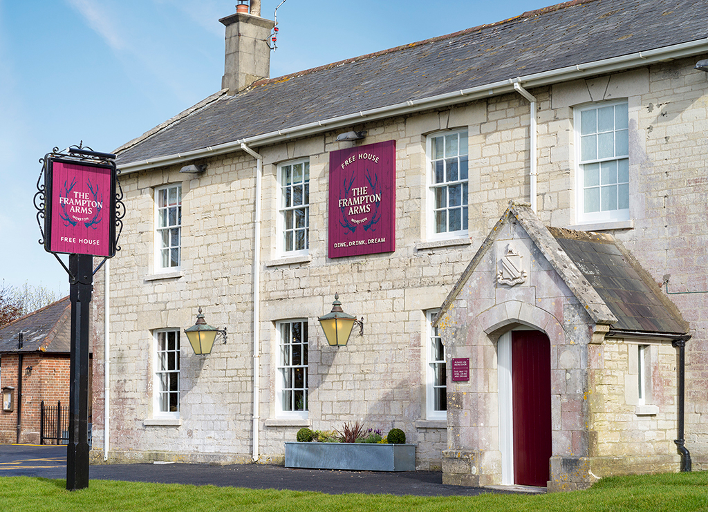 Discover the Frampton Arms Pub with Rooms, Moreton Dorchester